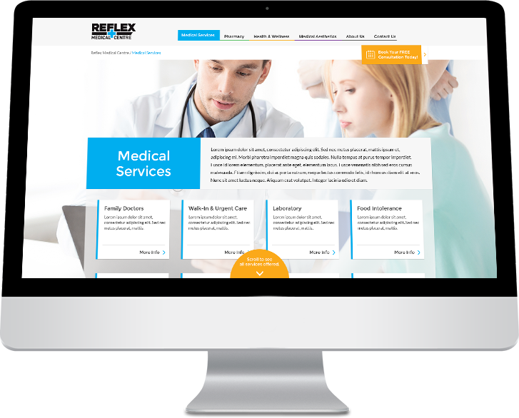 reflex-medical-centre-webdesign-medical-services