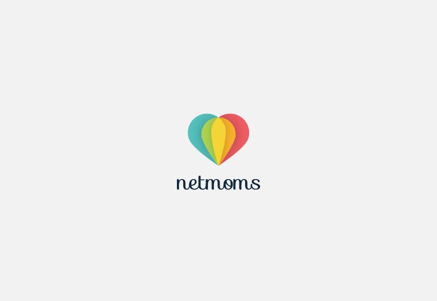 Netmoms Concept Logo